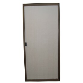 Superbe RITESCREEN Steel Sliding Screen Door (Common: 30 In X 80 In;