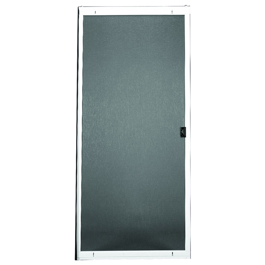 RITESCREEN Steel Sliding Screen Door (Common: 36-in x 80-in; Actual: 36-in x 80.125-in)