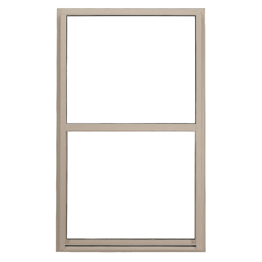 BetterBilt 3000TX Aluminum Double Pane Single Strength Single Hung Window (Rough Opening: 36-in x 60-in; Actual: 35.375-in x 59.5625-in)