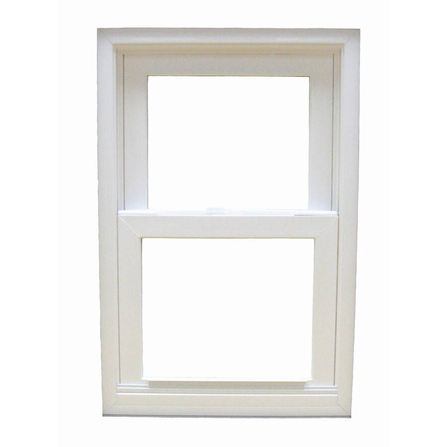 BetterBilt 185 Series Aluminum Double Pane Impact Single Hung Window (Rough Opening: 37-in x 50-in; Actual: 37-in x 50-in)