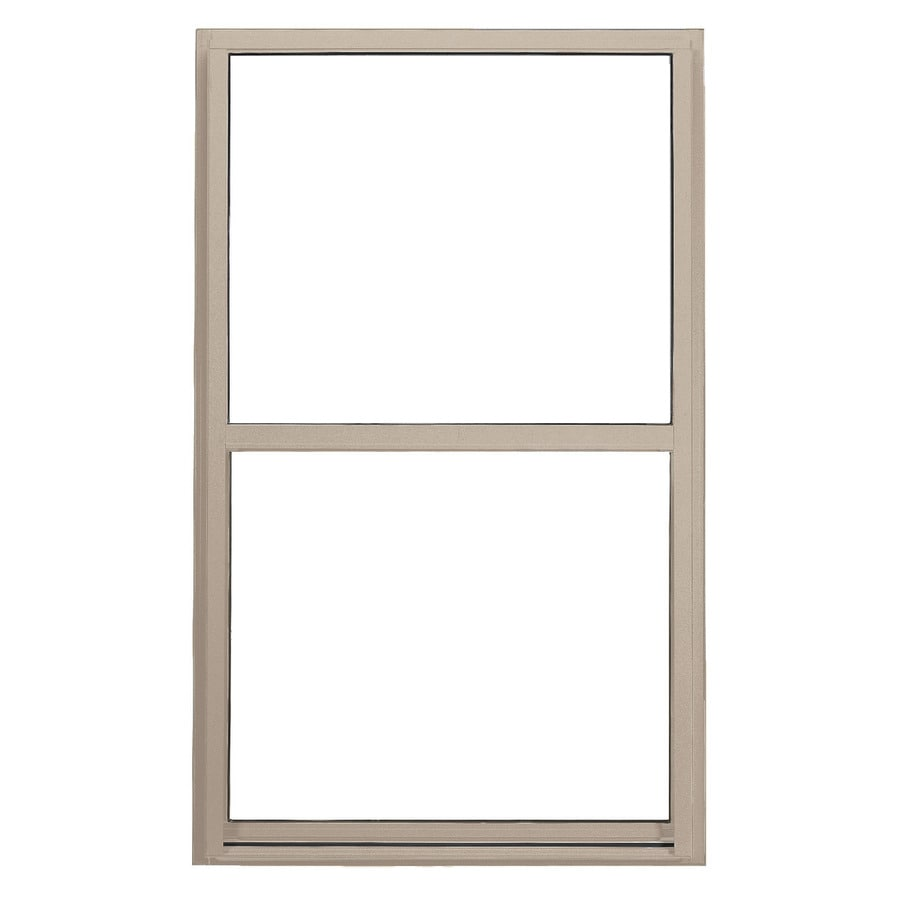 BetterBilt 350 Series Vinyl Double Pane Double Strength Single Hung Window (Rough Opening: 24-in x 36-in; Actual: 23.5-in x 35.5-in)