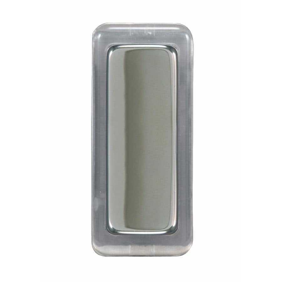 Heath Zenith Satin Nickel Doorbell Button
