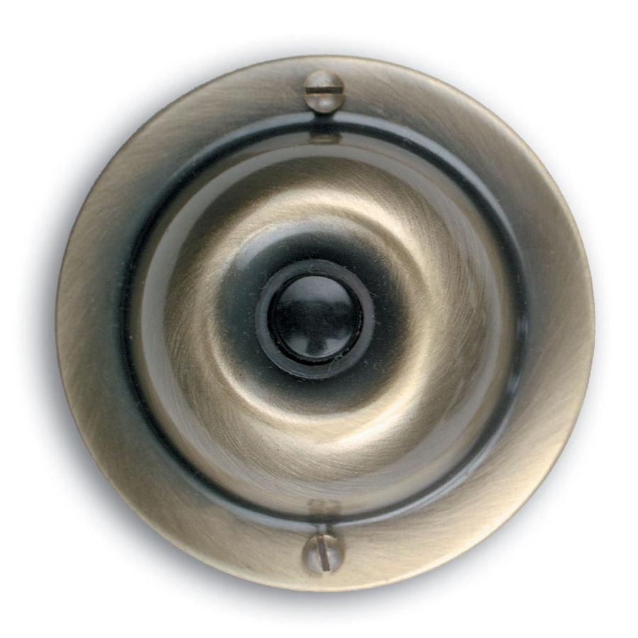 Utilitech Antique Brass Doorbell Button