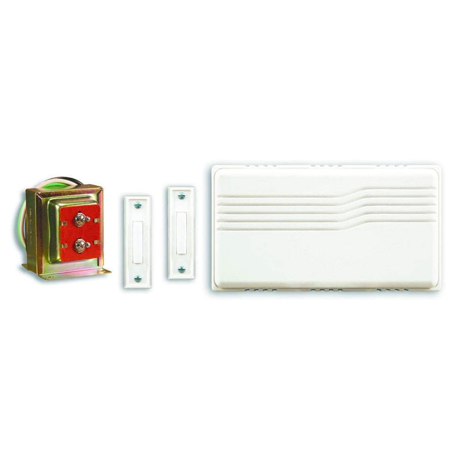 Shop utilitech white doorbell kit at lowes utilitech white doorbell kit cheapraybanclubmaster Images