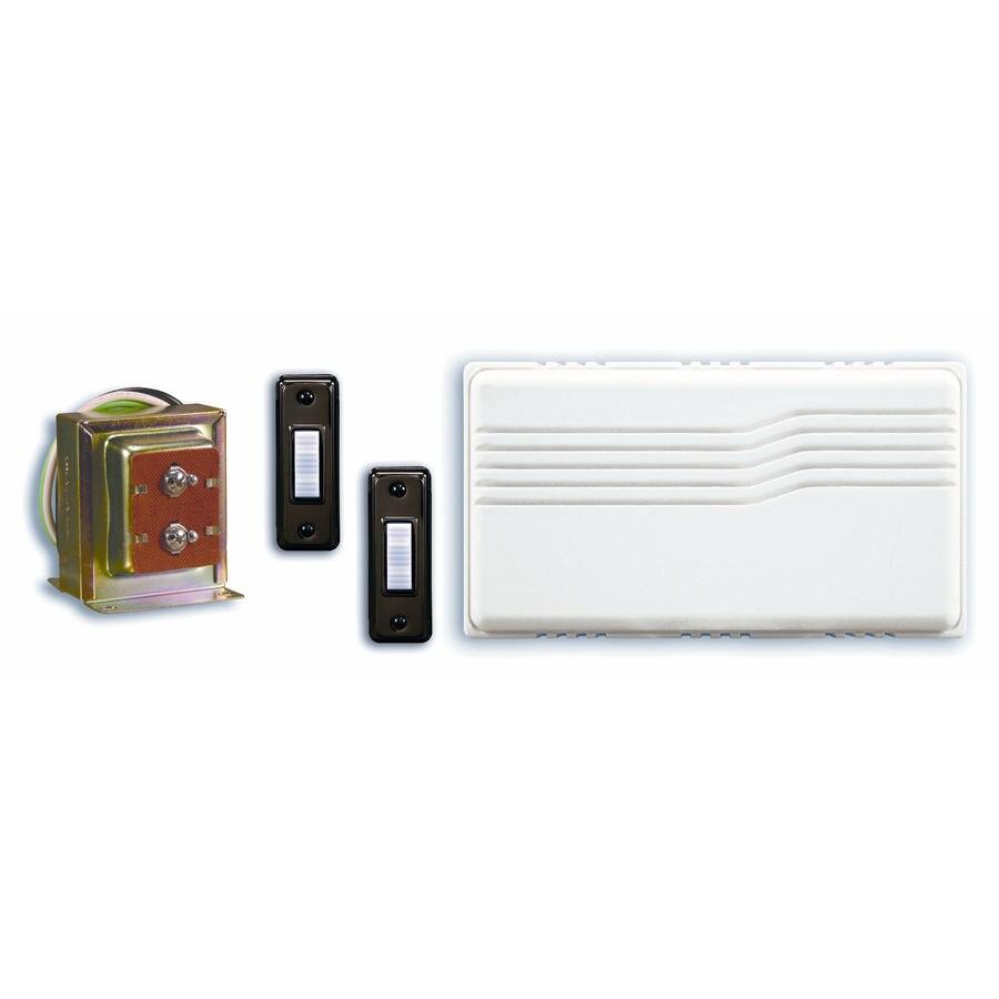 Utilitech White Doorbell Kit