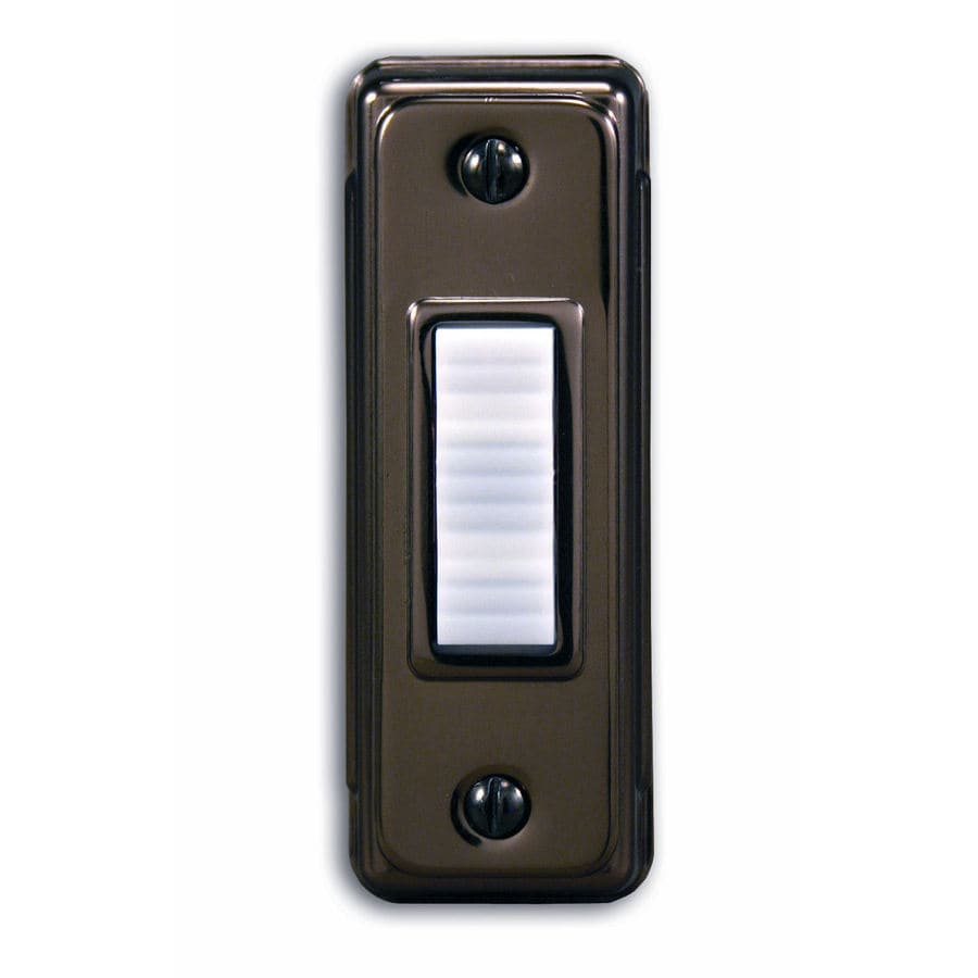 Utilitech Bronze Doorbell Button