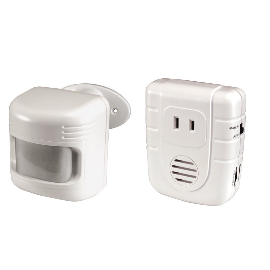Utilitech White Screw In Motion Sensor And Light Sensor At