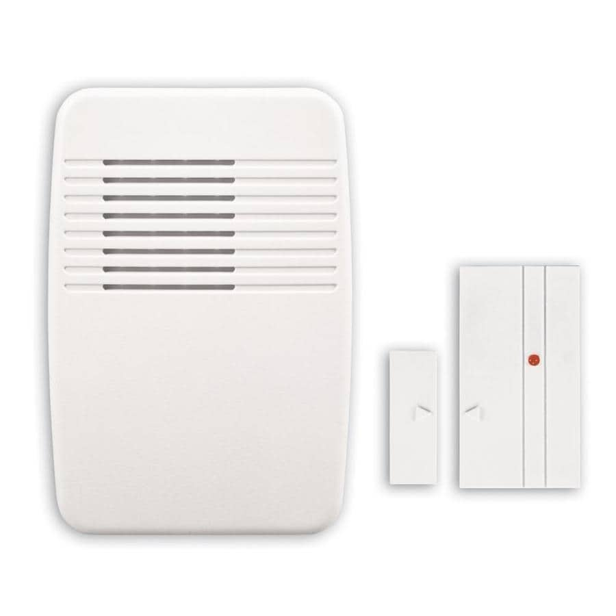Charmant Utilitech White Wireless Doorbell Kit