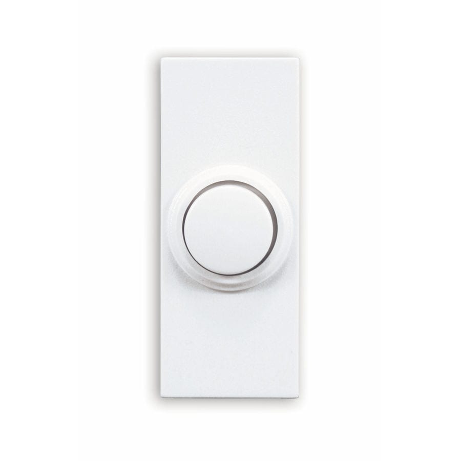 Superbe Utilitech Wireless White Doorbell Button (Batteries Included)