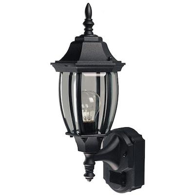 14 375 In H Black Medium Base E 26 Outdoor Wall Light