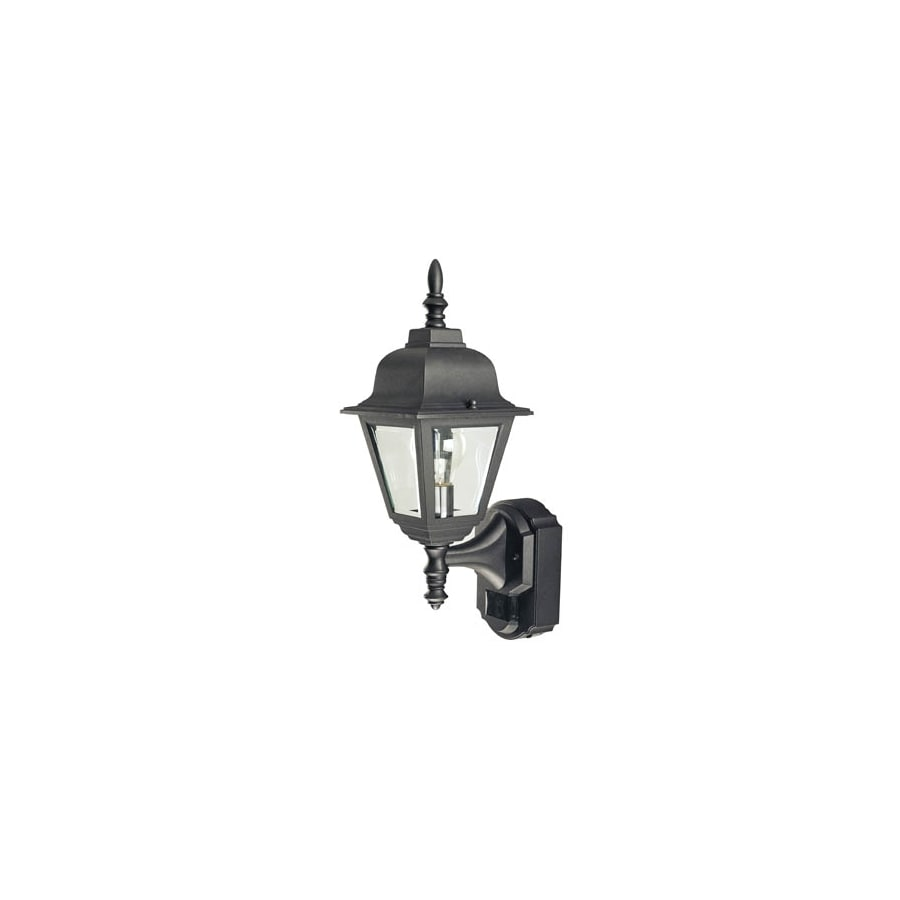 Answer question about secure home black motion activated wall mount secure home black motion activated wall mount outdoor light energy star174 aloadofball Gallery