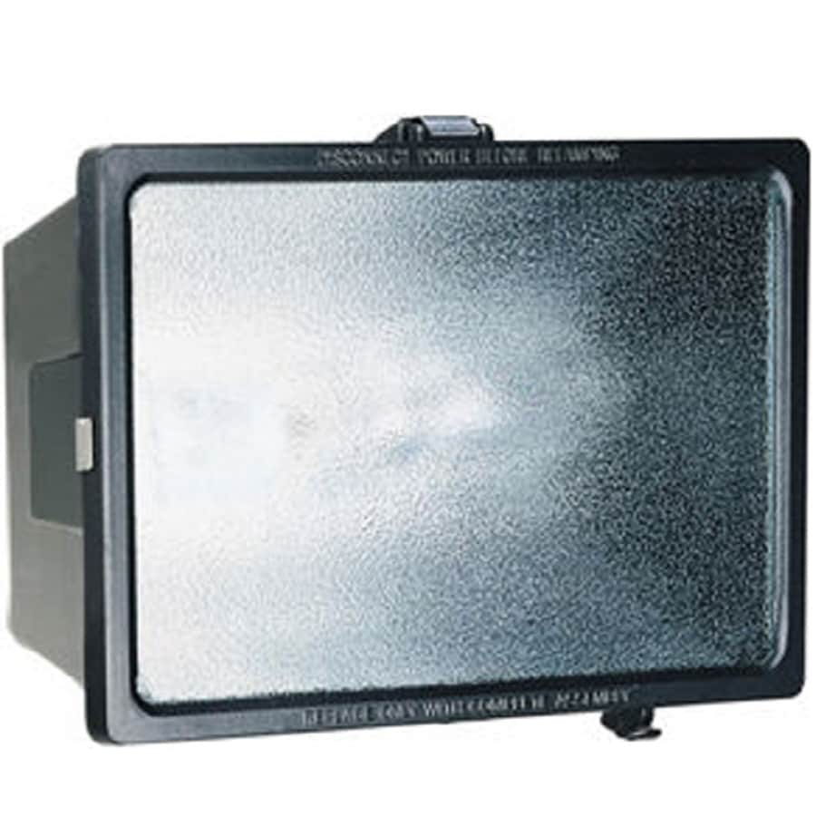 Utilitech 70-Watt Black High-Pressure Sodium Dusk-to-Dawn Flood Light