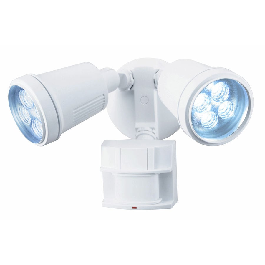 Heath Zenith 180-Degree 2-Head LED Motion-Activated Flood Light