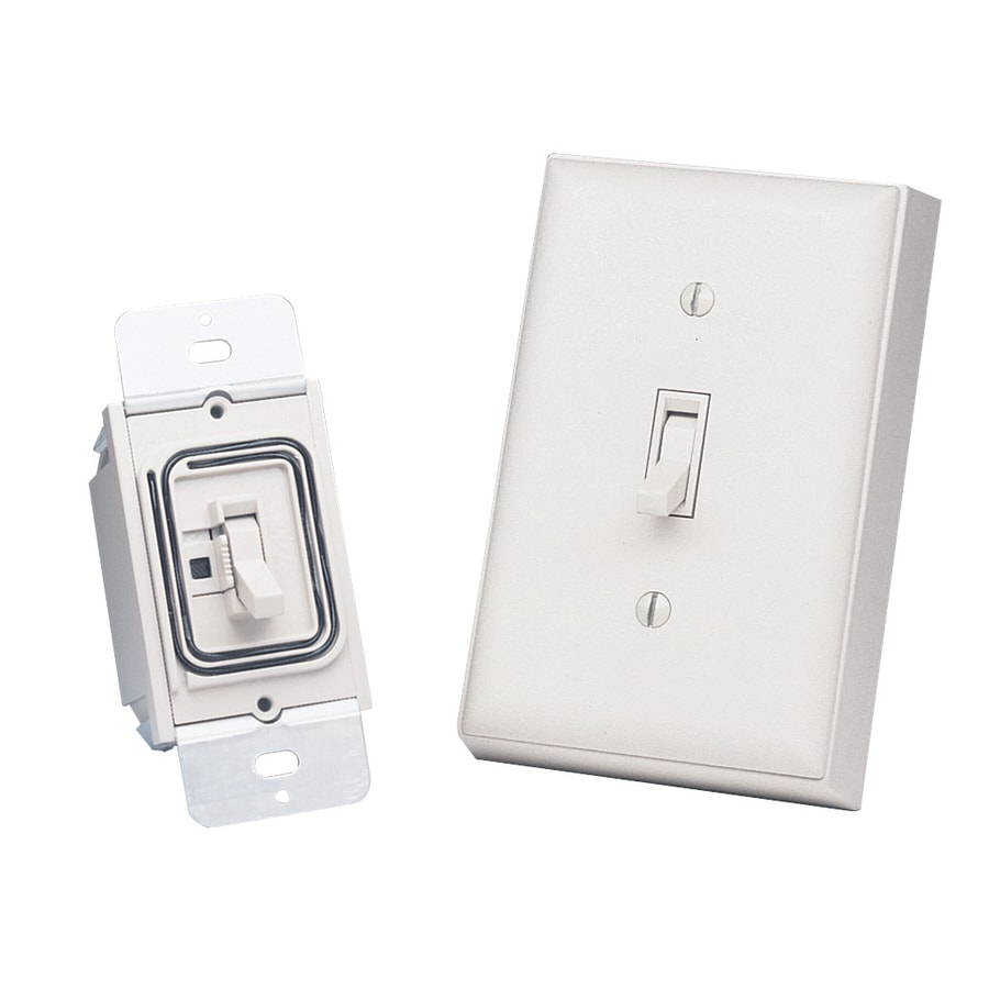 Heath Zenith White Light Switch