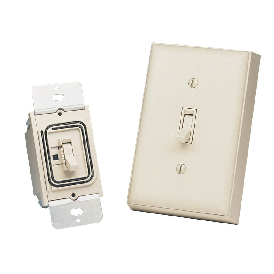 Heath Zenith Light Almond Light Switch