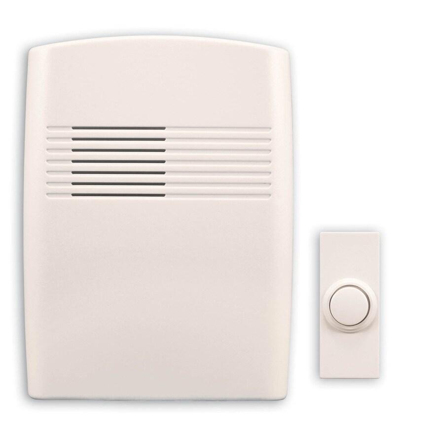 Heath Zenith Off-White Cover Wireless Doorbell Kit