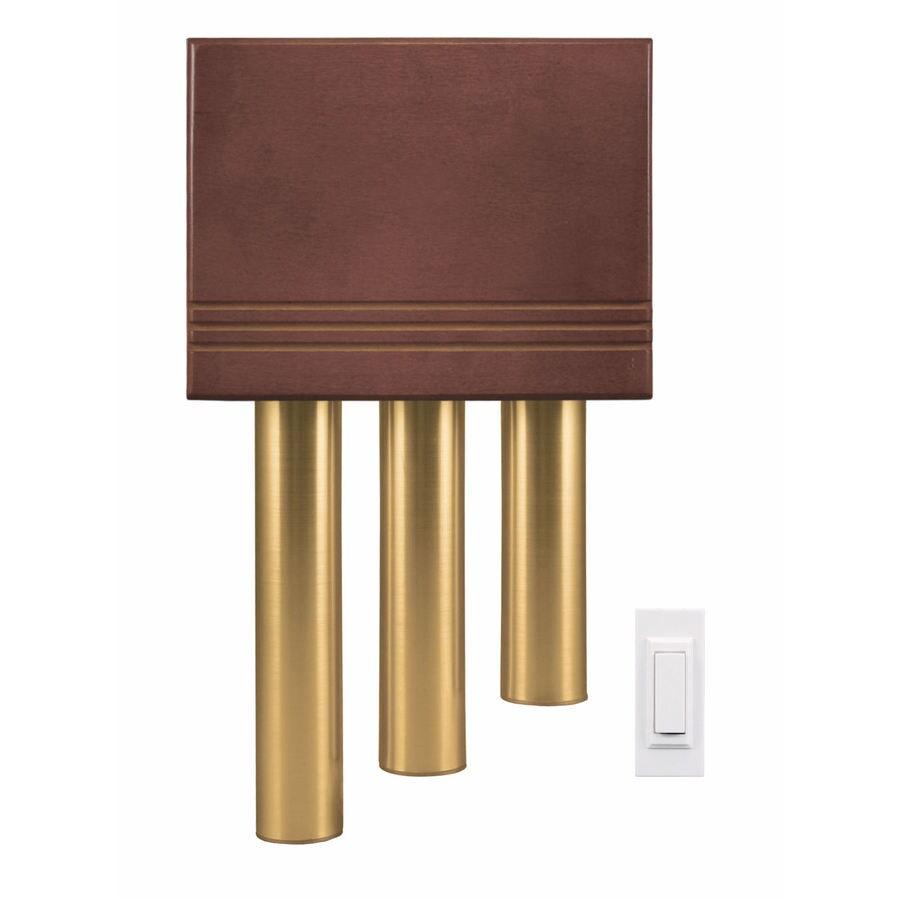Heath Zenith Solid Cherry Wireless Doorbell Kit