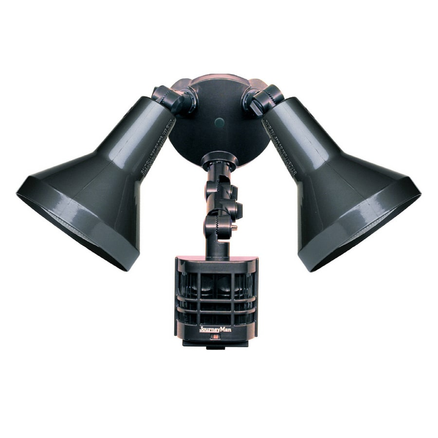 Shop Secure Home Journeyman 270 Degree Motion Sensing Security Light ...