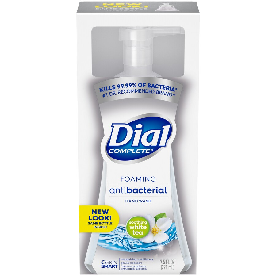 Dial 7.5-fl oz Antibacterial Foaming White Tea Hand Soap