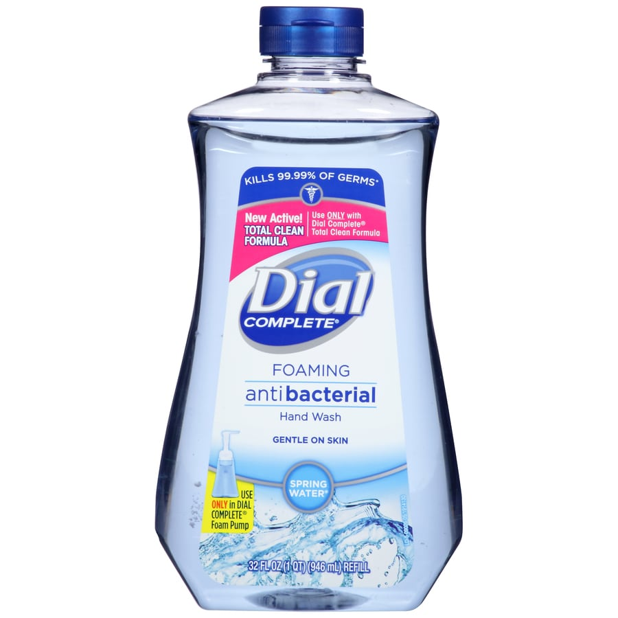 Dial 32-fl oz Antibacterial Foaming Spring Water Hand Soap