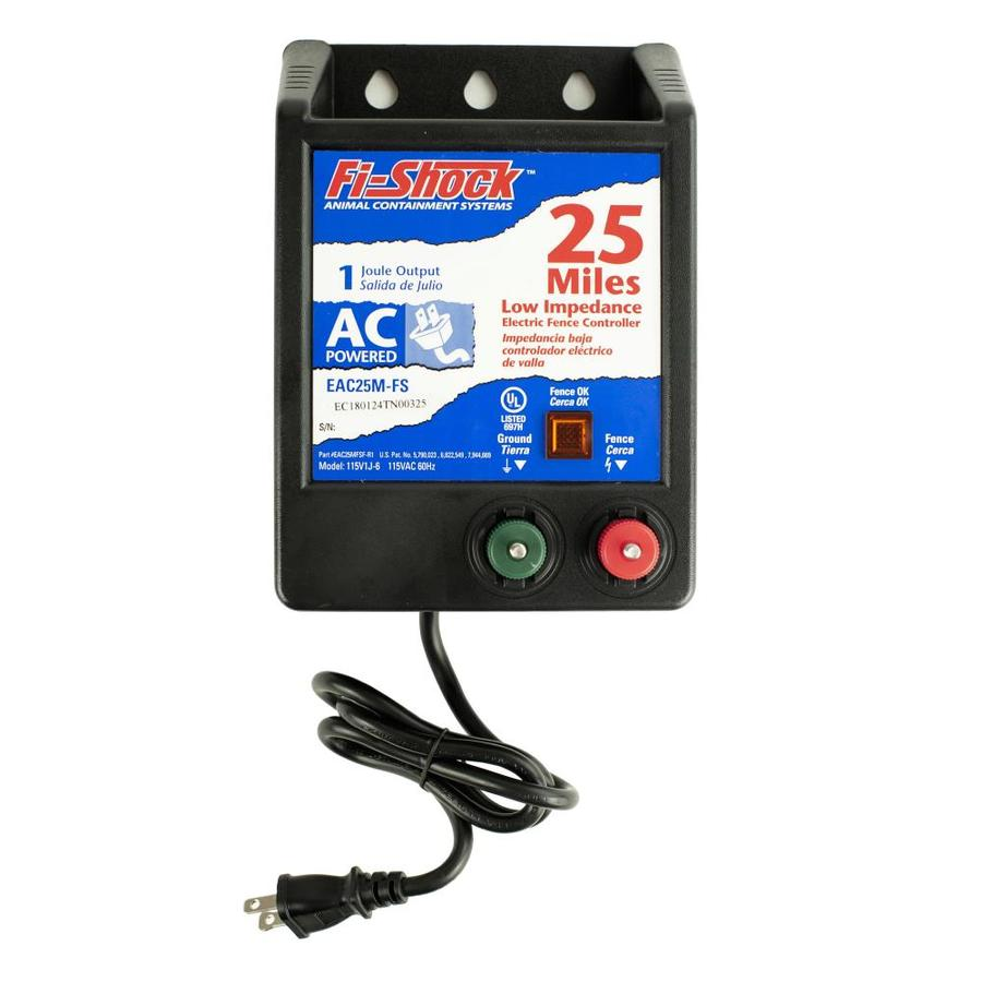 Fi-Shock 25-Mile AC Hardwired Electric Fence Charger