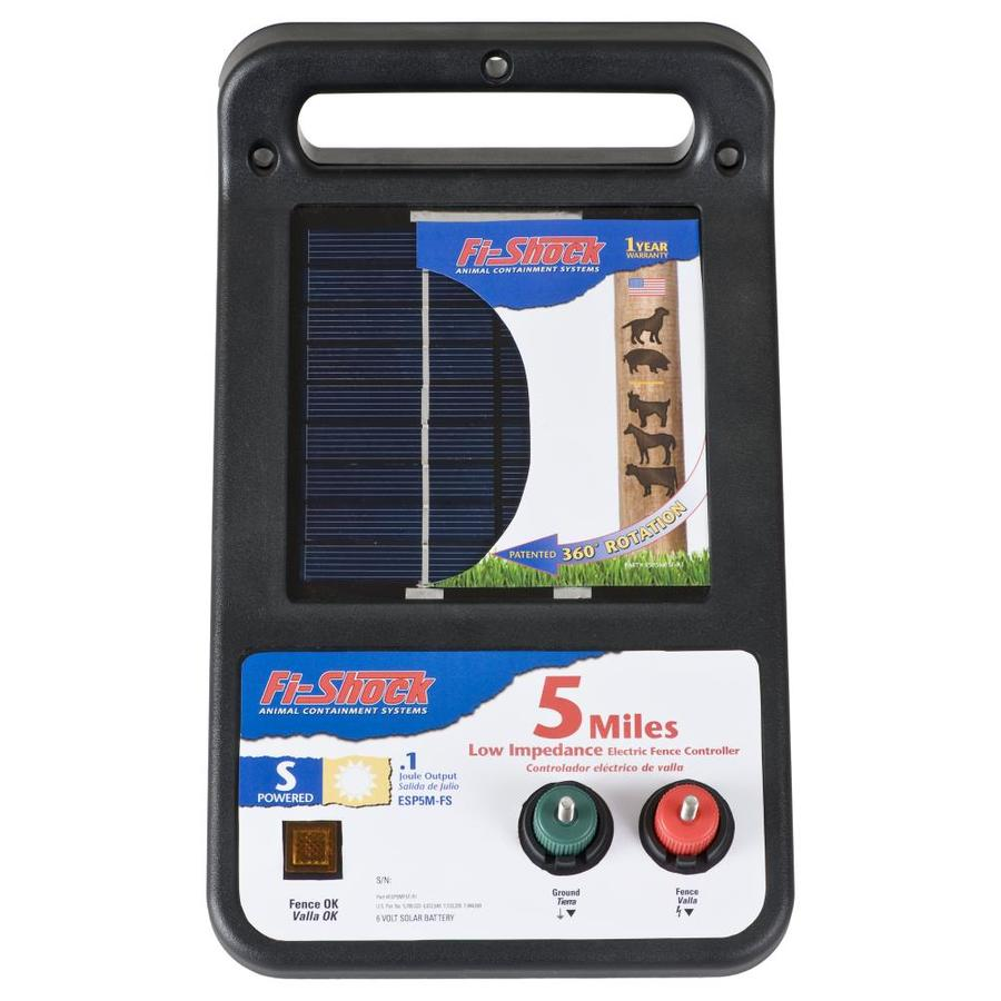 Fi-Shock 5-Mile Solar Electric Fence Charger