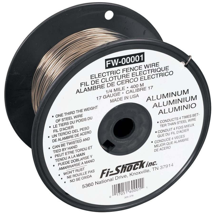 Fi-Shock 1,320-ft 17-Gauge Electric Fence High-Tensile Wire