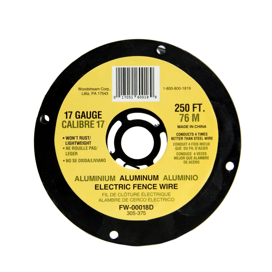 Fi-Shock 250-ft 17-Gauge Electric Fence High-Tensile Wire