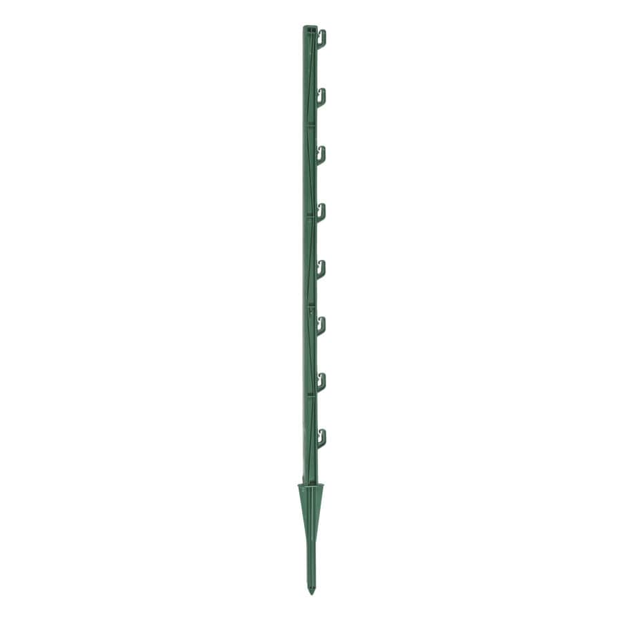 Fi-Shock 2.52-ft Green Plastic Electric Fence Post