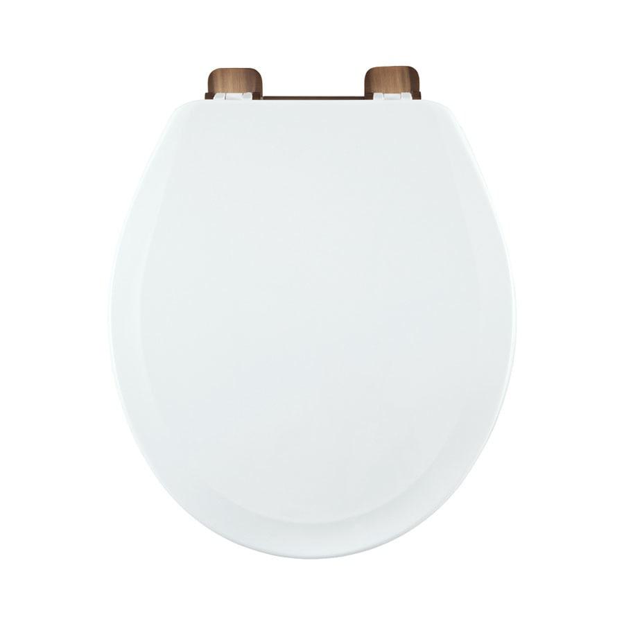 Centoco Wood Round Toilet Seat