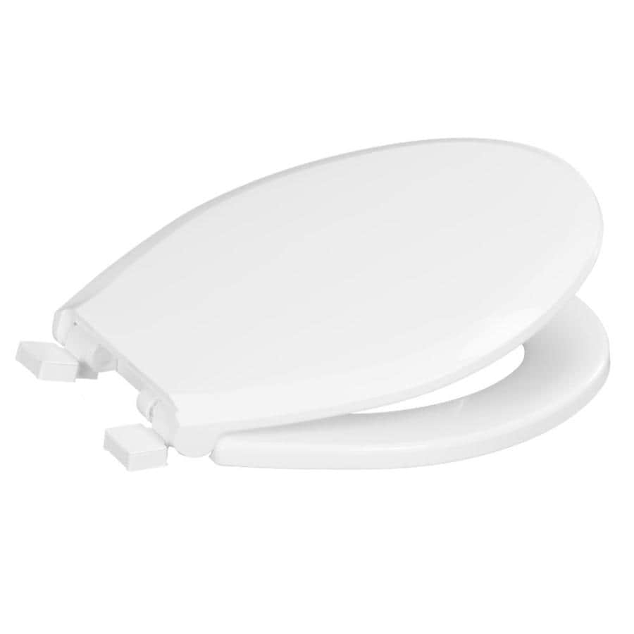 Centoco White Plastic Round Slow Close Toilet Seat