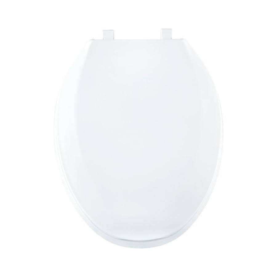 Centoco Crane White Plastic Elongated Toilet Seat