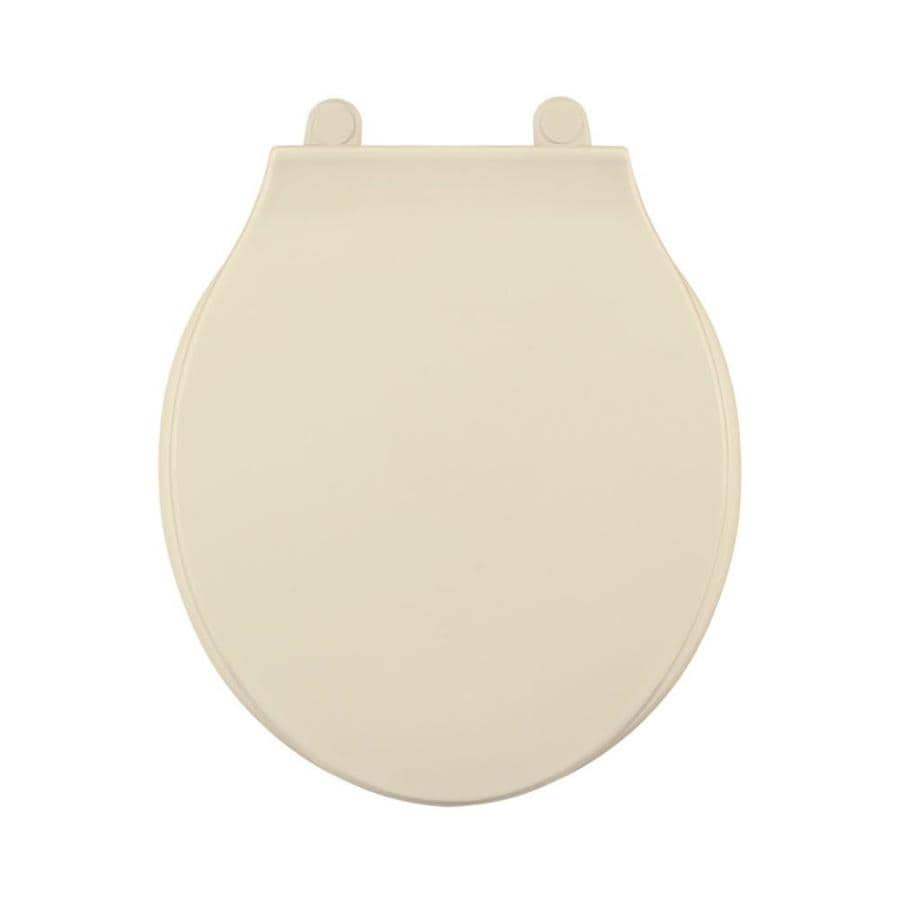 Centoco Bone Plastic Round Toilet Seat