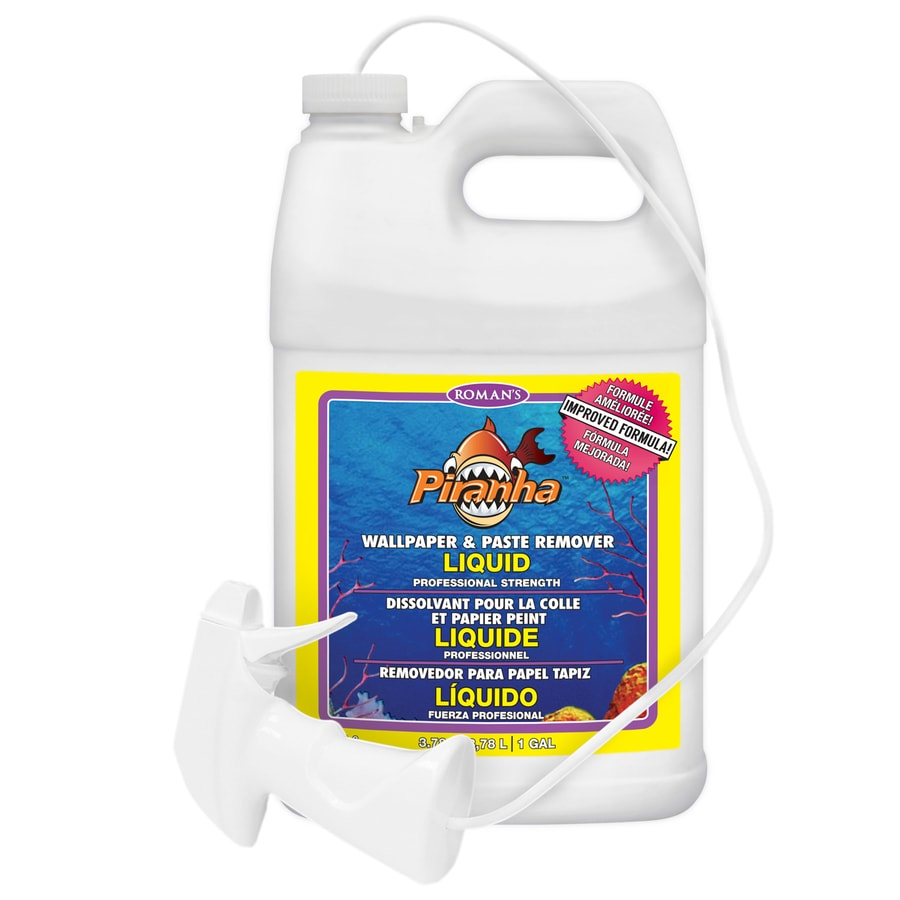 Piranha 128-oz Liquid Wallpaper Remover