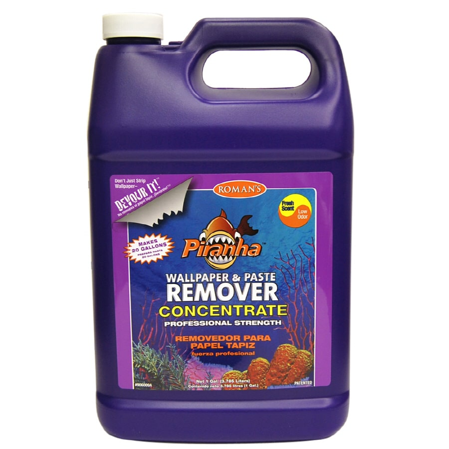 Piranha 128-oz Concentrate Wallpaper Remover