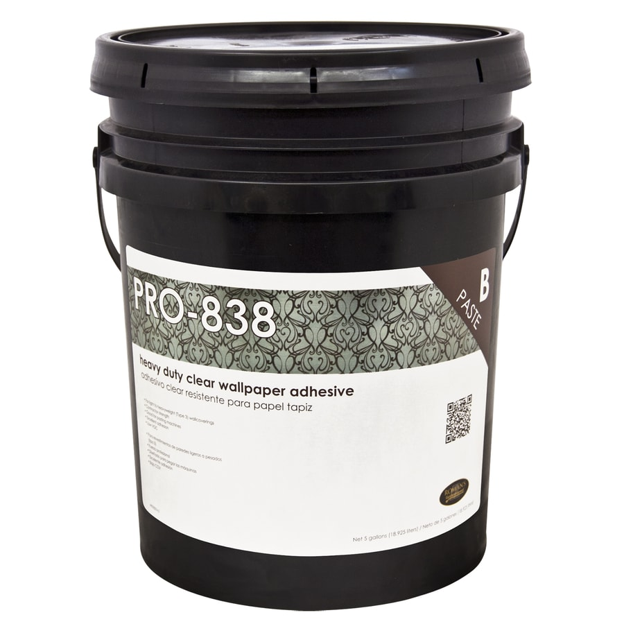 Shop professional pro 838 heavy duty clear 640 oz for Wallpaper adhesive home depot