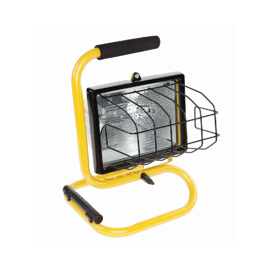 Craftsman 500 Watt Halogen Worklight: Utilitech 500-Watt Halogen Portable Work Light At Lowes.com
