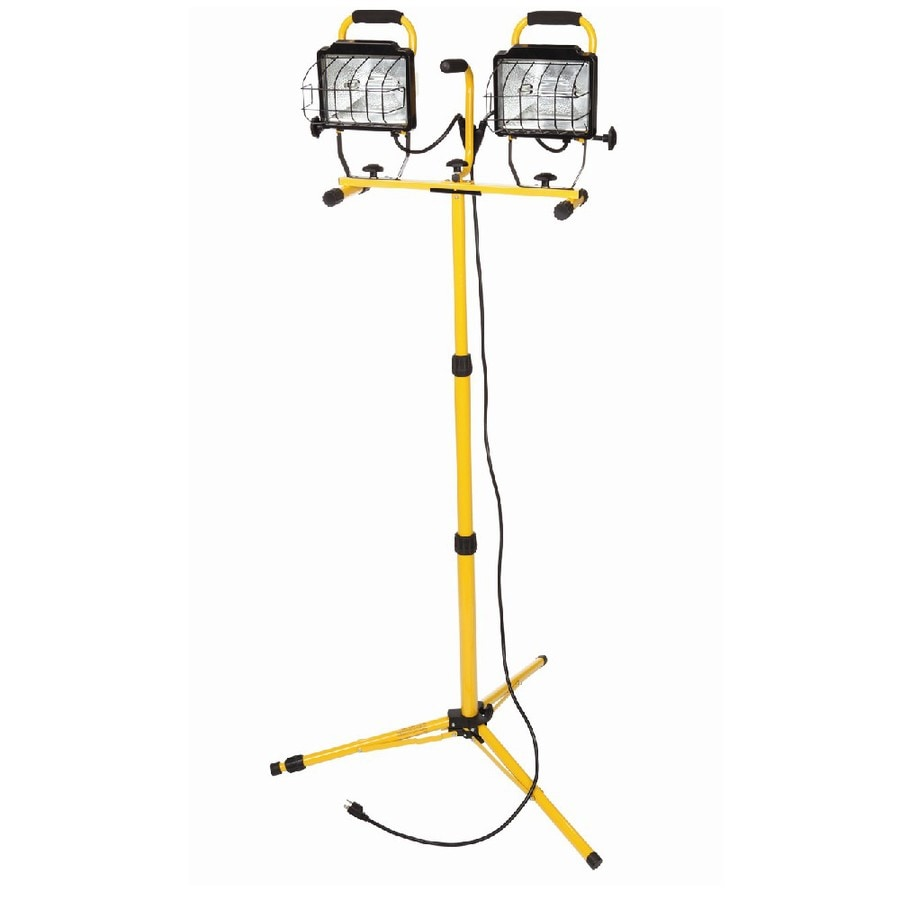 Utilitech 1000-Watt Halogen Stand Work Light