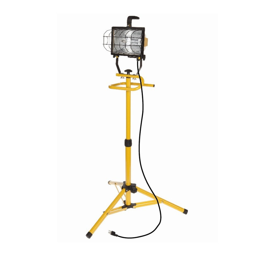 Craftsman 500 Watt Halogen Worklight: Utilitech 500-Watt Halogen Stand Work Light At Lowes.com