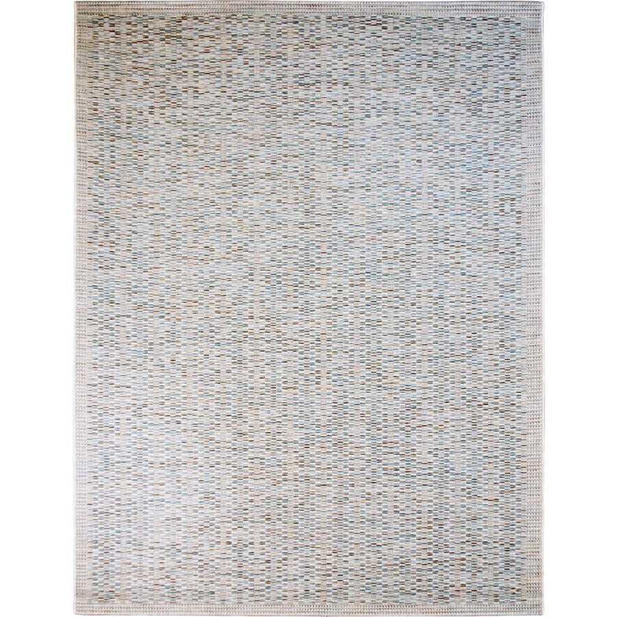 Balta Wayburn Rectangular Gray Solid Indoor/Outdoor Woven Area Rug (Common: 5-ft x 7-ft; Actual: 5.25-ft x 7.25-ft)