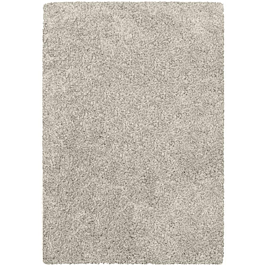Balta Opening Night Taupe Rectangular Indoor Machine-Made Inspirational Area Rug (Common: 5 x 7; Actual: 5.25-ft W x 7.22-ft L x 0-ft Dia)