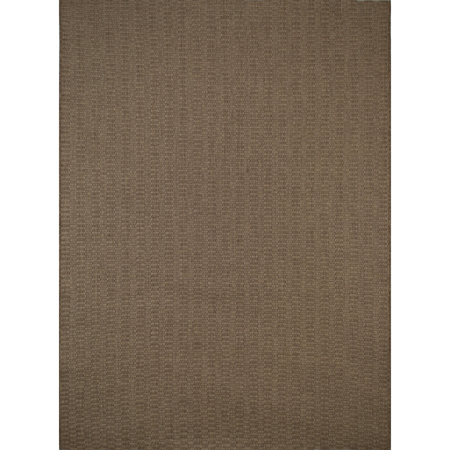 Balta Natural Chestnut Rectangular Indoor/Outdoor Machine-Made Nature Area Rug (Common: 8 x 10; Actual: 7.87-ft W x 10-ft L)