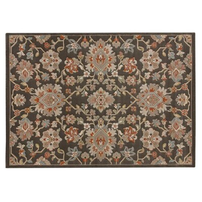 Balta Davis Multi 8 X 10 8 X 10 Multi Color Indoor Damask Area Rug In The Rugs Department At Lowes Com