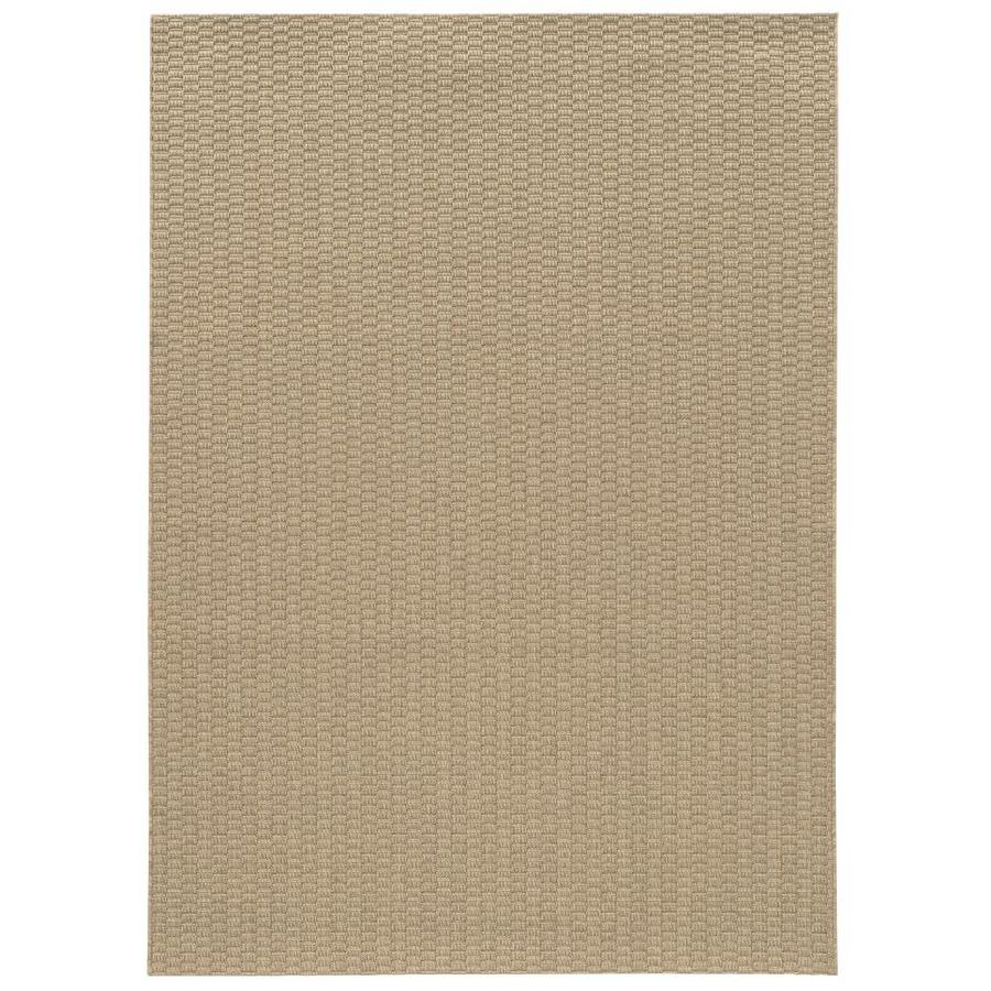 Allen Roth Ashlyn Cream Indoor Outdoor Inspirational Area Rug Common 8 X