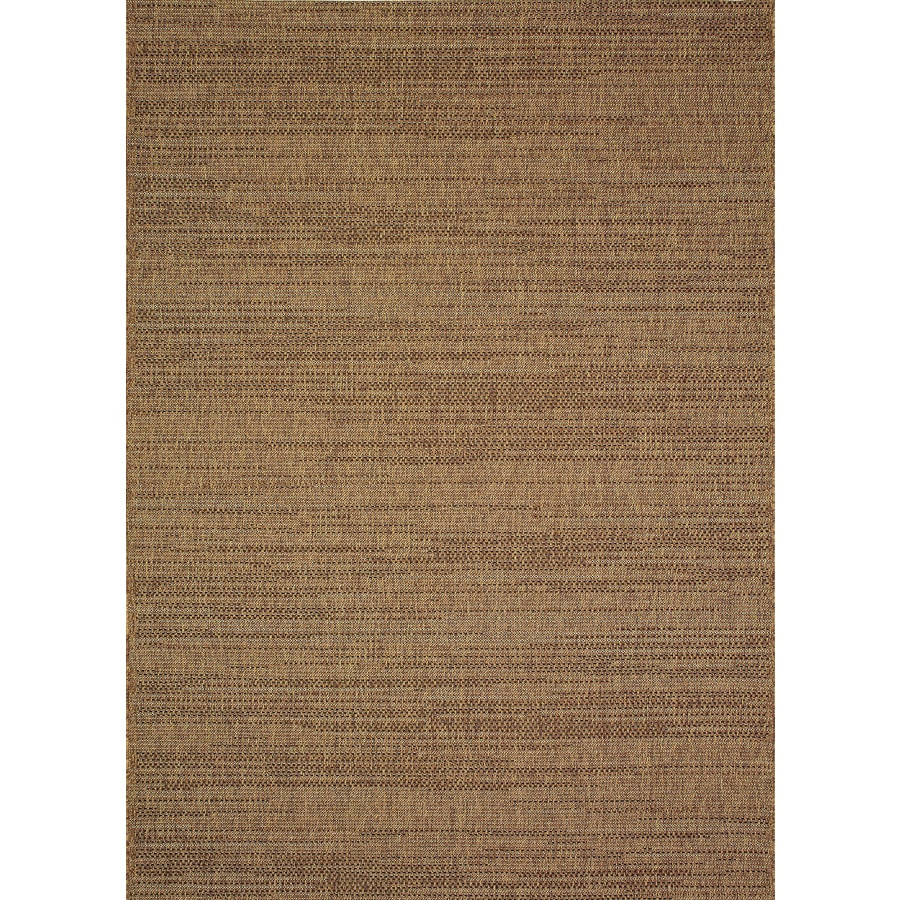 Allen Roth Bestla Brown Indoor Outdoor Distressed Area Rug Common 5 X