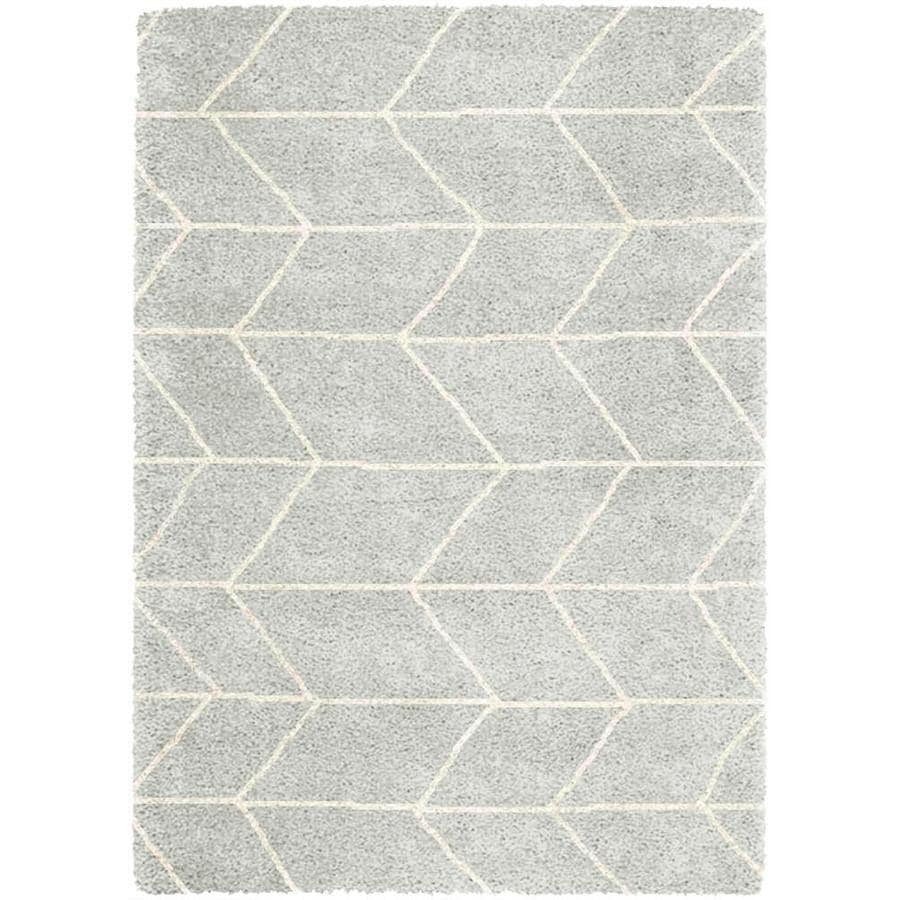 Balta Gray Indoor Outdoor Area Rug Common 8 X 10 Actual