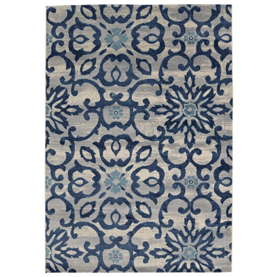Balta Sydney Blue 8 X 10 Indoor Area Rug Common