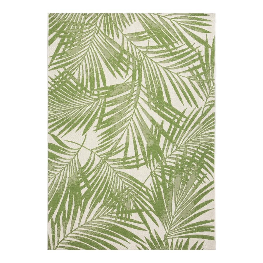 Garden Treasures Bright Palm 8x10 Green Rectangular Indoor
