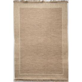 Allen Roth Indy 8ft X 10ft Tan Indoor Outdoor Area Rug Common