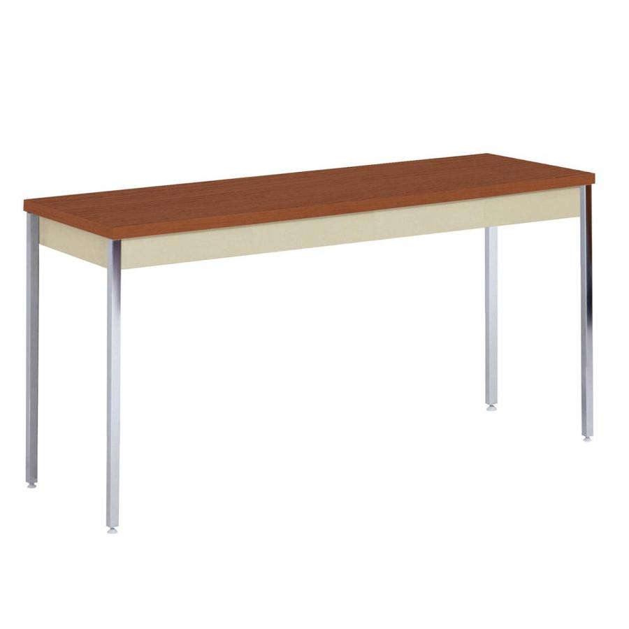edsal Oak Composite Rectangular Coffee Table